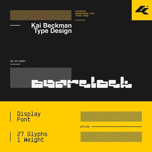 Overclock Typeface