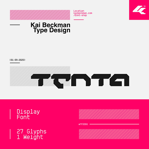 Tenta Typeface