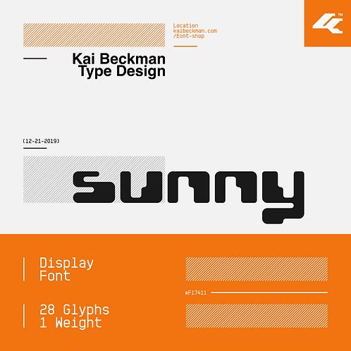 Sunny Typeface