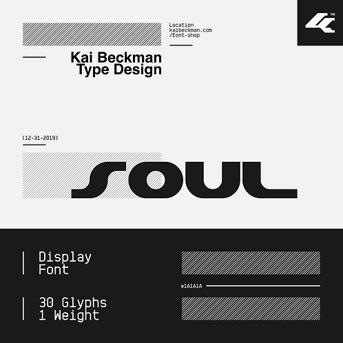 Soul Typeface