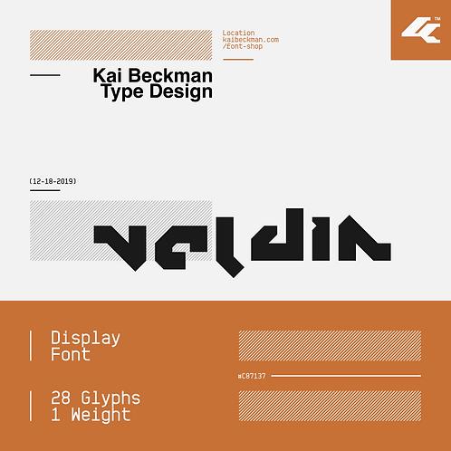 Veldin Typeface