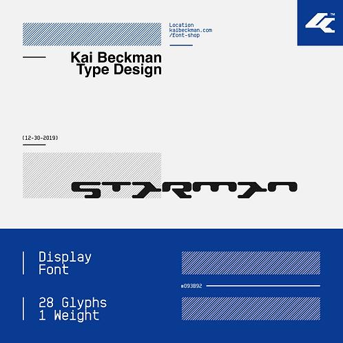 Starman Typeface