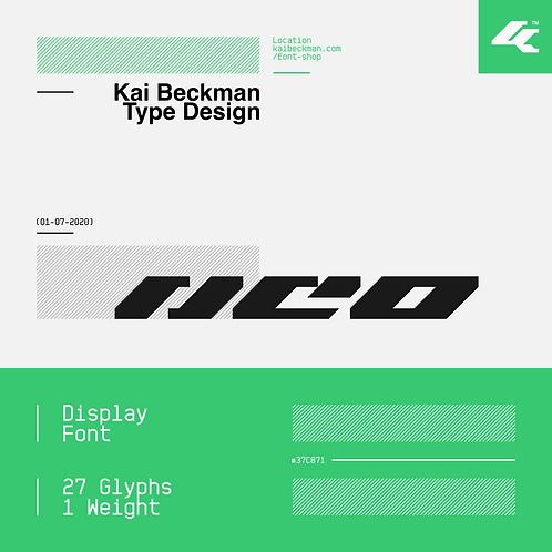 Neo Typeface