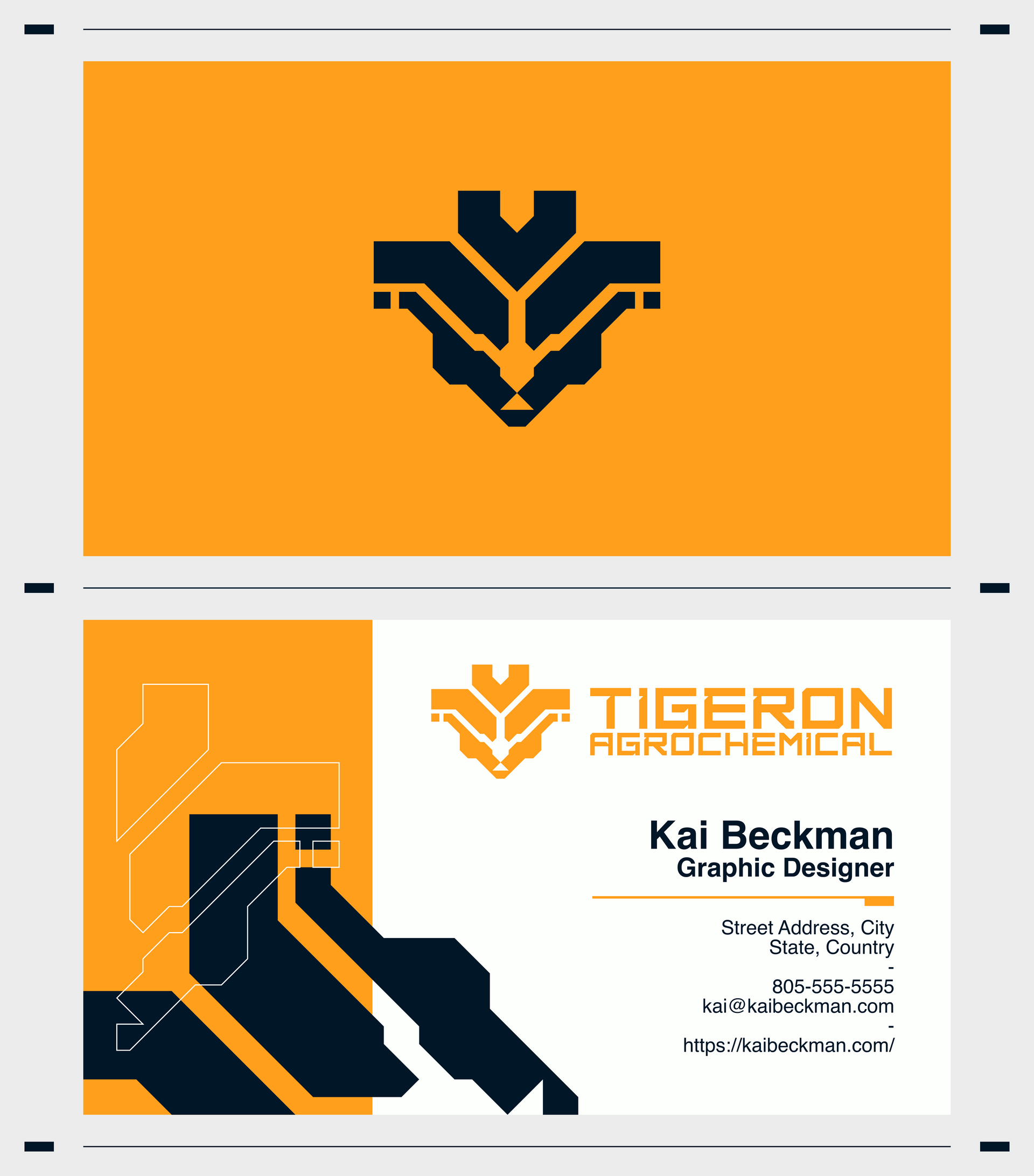 Tigeron Business Cards