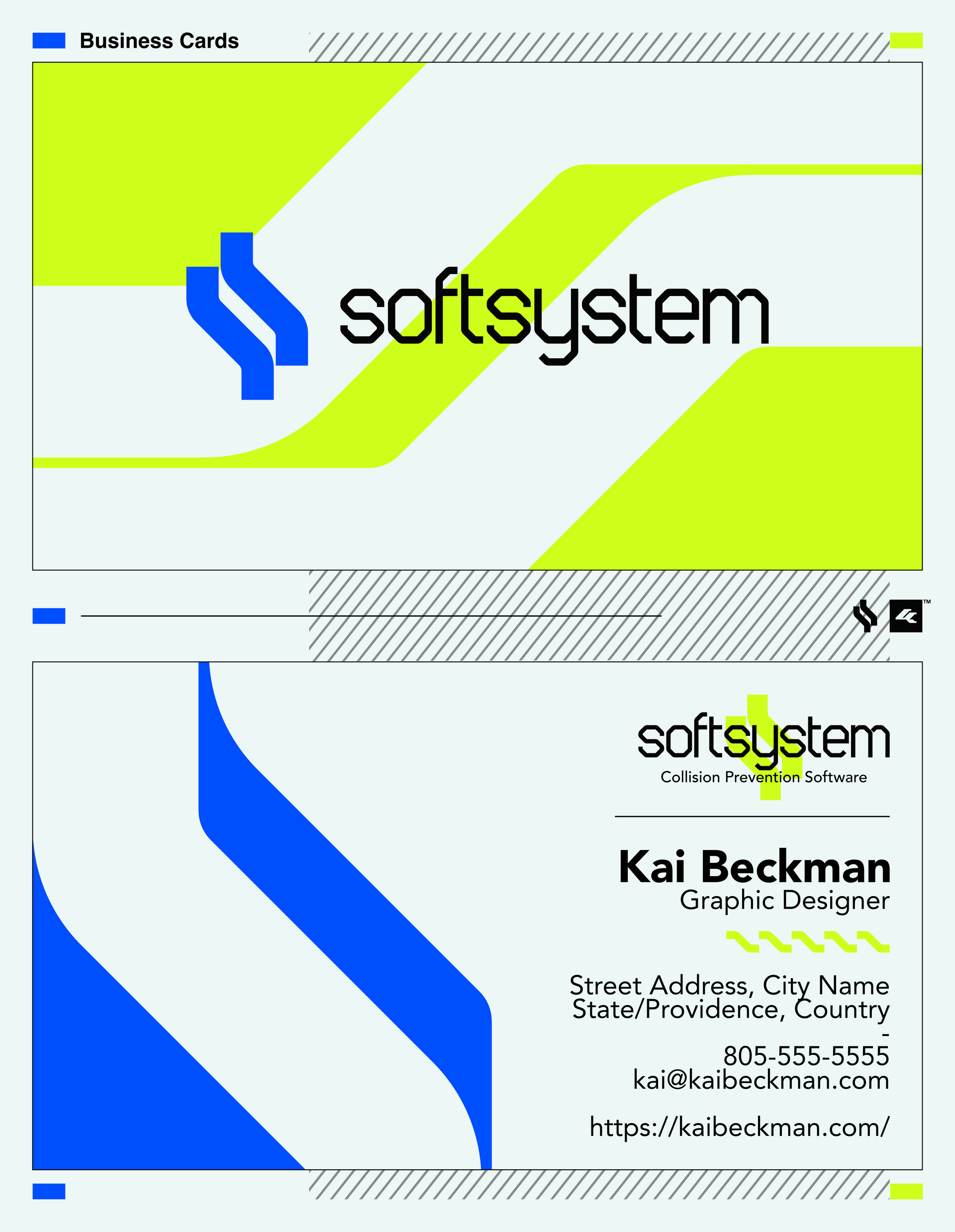 SoftSystem Business Cards