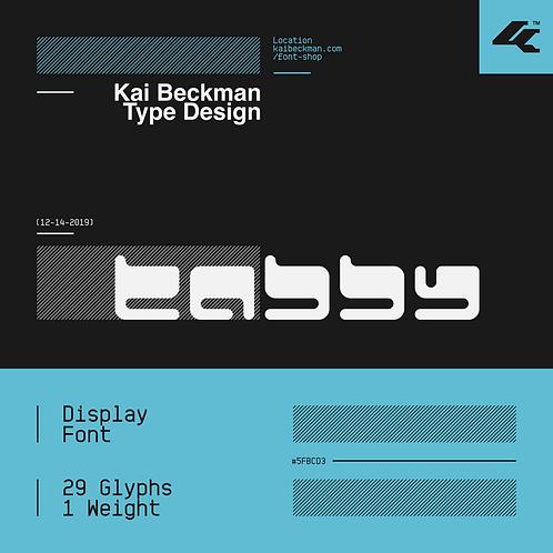 Tabby Typeface