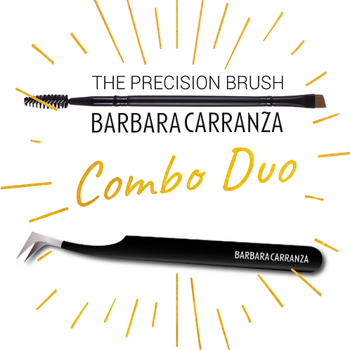 Tweezer and brush duo