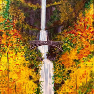 """Multnoma Falls"""