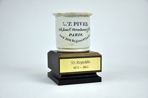SS Republic L. T. Piver Cosmetic Pot