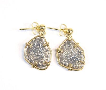 """""""Tortugas"""" 1 Real Earrings"""