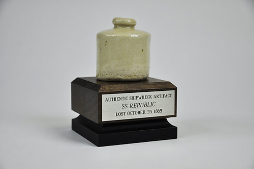 SS Republic Ceramic Ink Pot