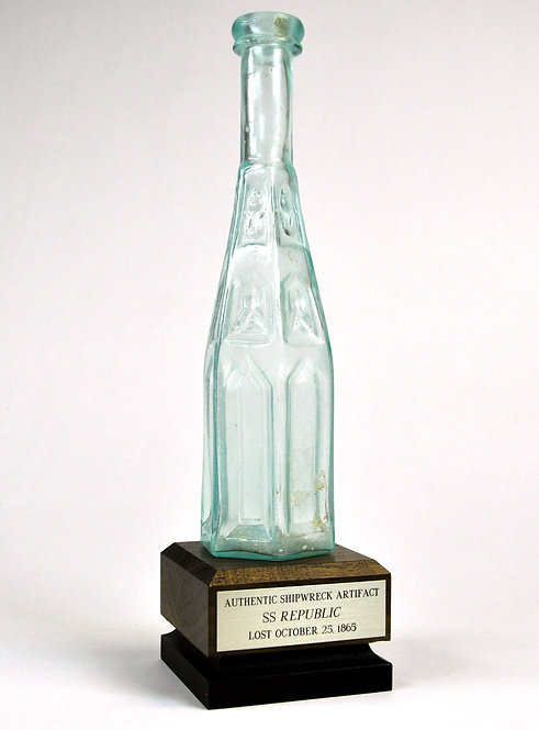 SS Republic Cathedral Pepper Sauce Bottle