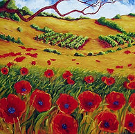 Poppies Vineyards and Oaks