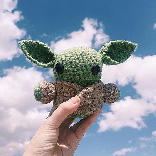 Green Baby Plushie