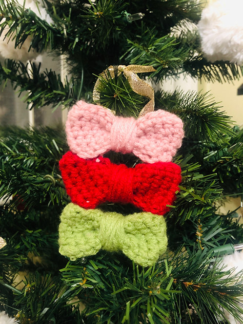 Bow Ornament