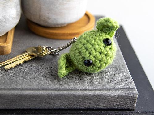 Green Baby Keychain