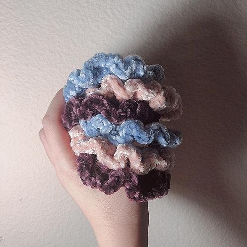 Velvet Scrunchies (3-Pack)