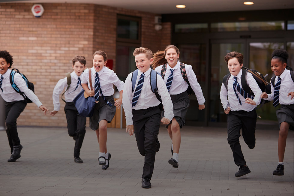 running, schoolboys, schoolgirls, Royal National Children's SpringBoard Foundation, social mobility, widening access, life-changing opportunities, bursary