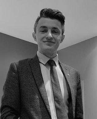 Ryan, grey suit, Royal National Children's SpringBoard Foundation, social mobility, schools, bursary, inclusion