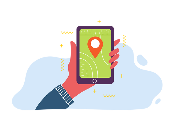 Hand, phone, map, alumni, Royal National Children's SpringBoard Foundation, social mobility, broadening access, life-changing opportunities, schools