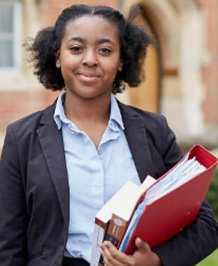 Schoolgirl, bursary, Royal National Children's SpringBoard Foundation, social mobility, widening access, life-changing opportunities, disadvantaged