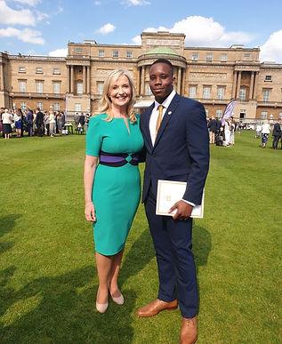 Buckingham Palace, Carol Kirkwood, Donnell Bowes, Duke of Edinburgh Award, Princess Eugenie, Wessex, Royal National Children's SpringBoard Foundation