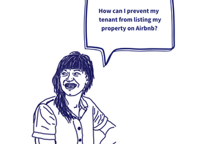 I don't want my tenant offering Airbnb at my property.