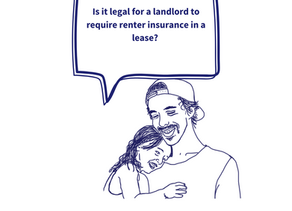 Renter Insurance is required in my lease. Is this legal?