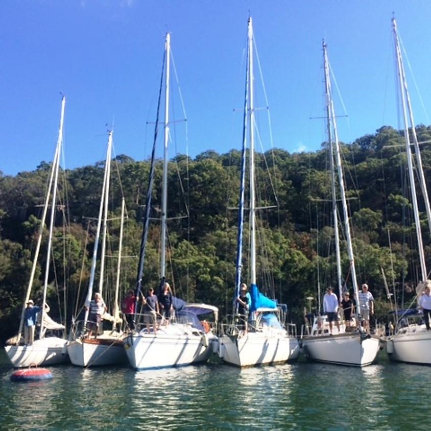 Midweek Social Sail and Raft Up