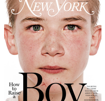 """How to Raise a Boy"" Inspiration from NYMag"
