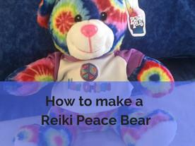 How to make a Reiki Peace Bear