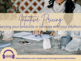 Intuitive Pricing - how to price your products or services using your intuition #50