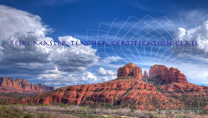 Reiki Master Teacher class for facebook