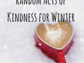 Random Acts of Kindness for Winter