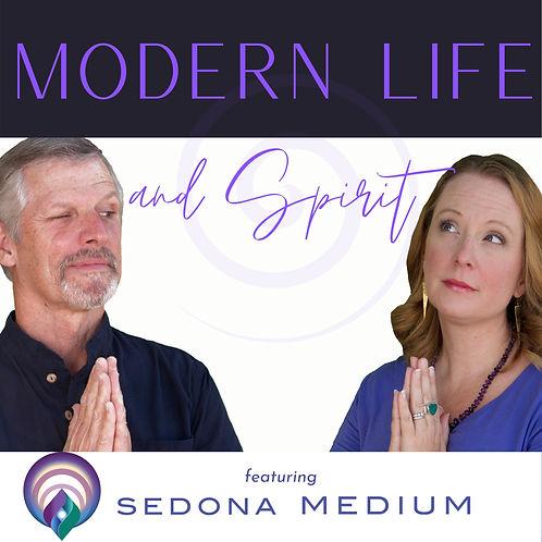 Modern Life and Spirit podcast thumbnail