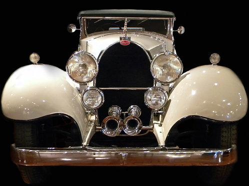 Bugatti - Framed Canvas Print