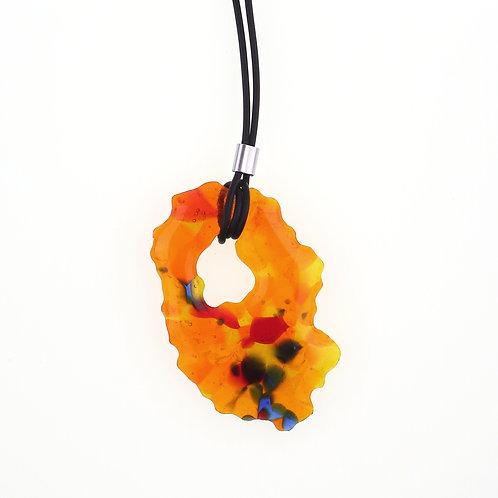 Marbling Necklace | MB01-ROYBU01