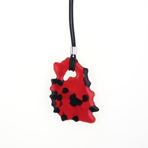 Marbling Necklace | MB01-RB01