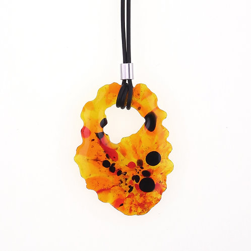 Marbling Necklace | MB01-ROYB02