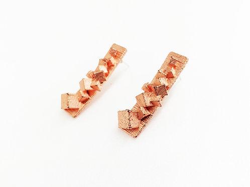Galaxy | Earrings - Copper