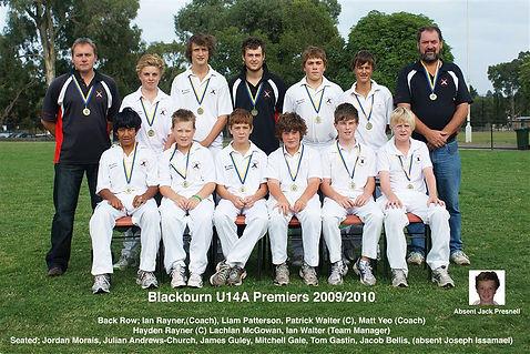 2009/10 U14A Premiers