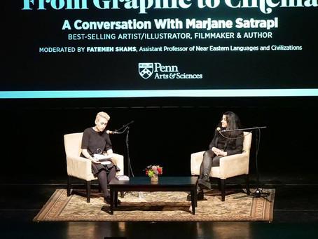 Marjane Satrapi at Penn