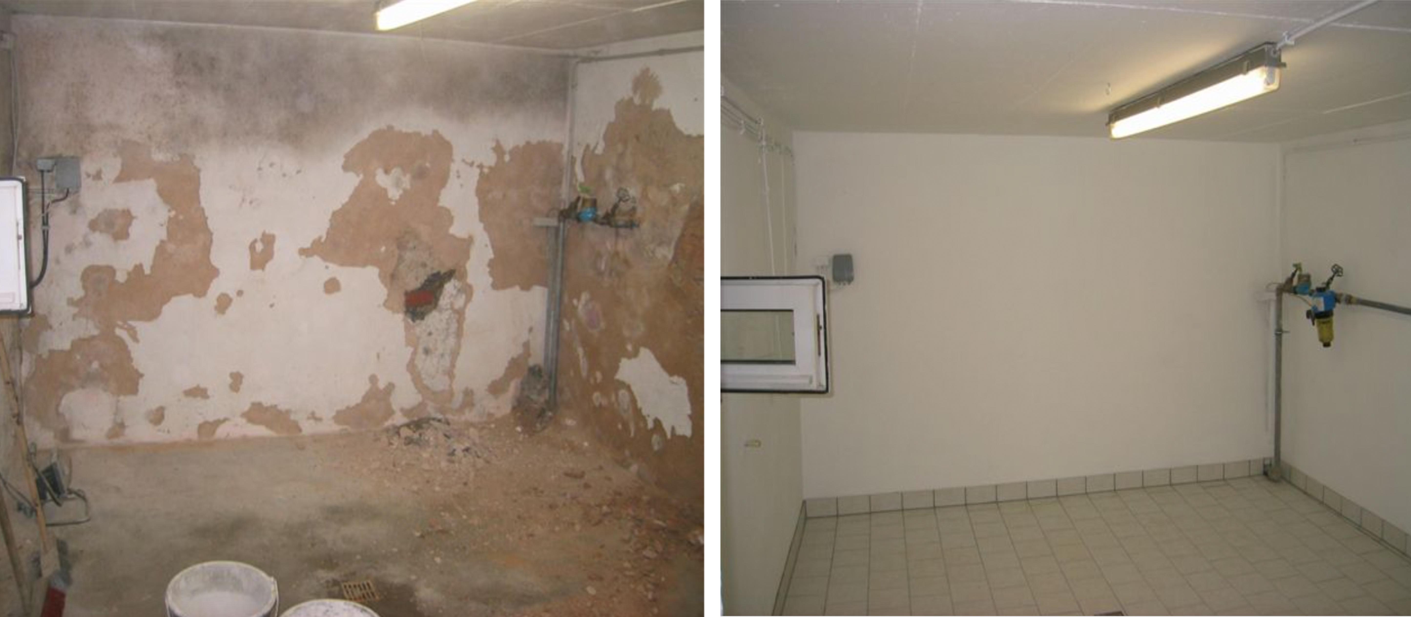 Feuchte Wände sanieren | Neue Website