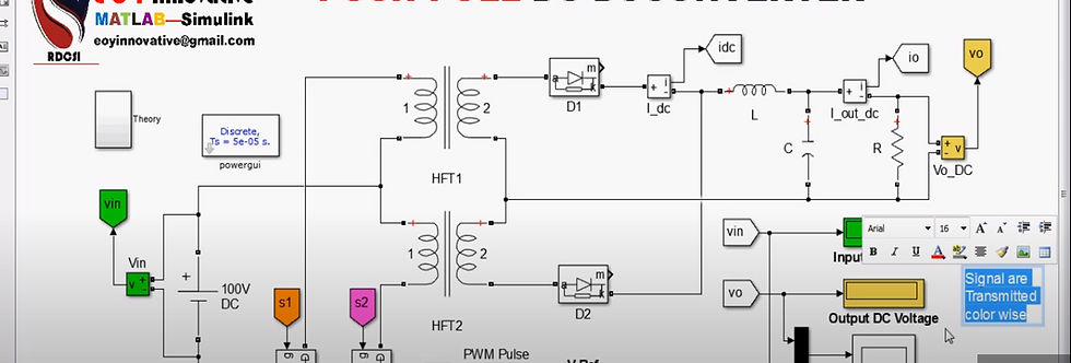 Push - Pull DC to DC Converter For Battery Charger using PWM Technique