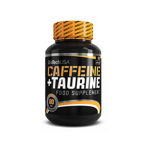CAFFEINE + TAURINE 60 CAPS