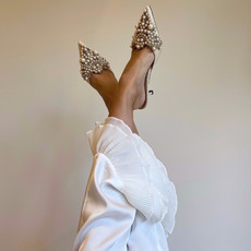 Diana Pearl Slippers - Studio by Charlotte