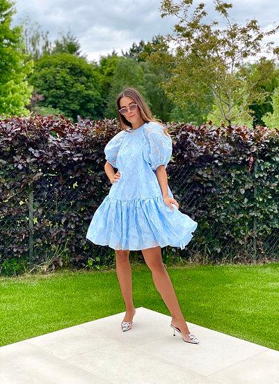 Mariah Dress   Pastel Blue