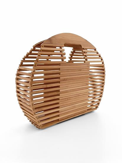 Tahiti Bamboo Basket  | Natural