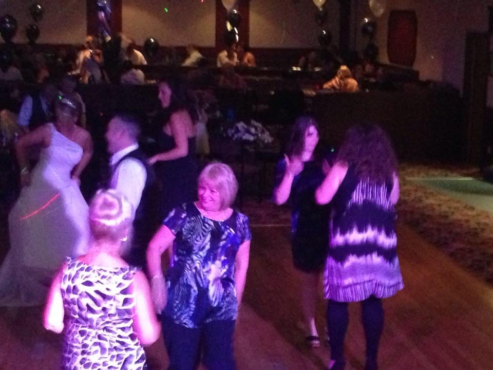 More dancing....