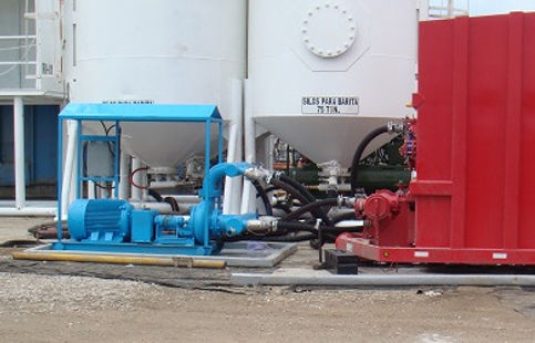frack tanks, compresores de aire, bombas, sellos mecánicos, bombas centrífugas